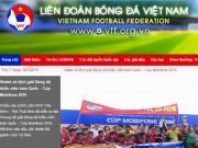 Bóng đá - Website LĐBĐ Việt Nam hoạt động trở lại sau sự cố tin tặc