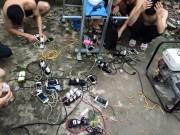 Chùm ảnh: Người dân  khát điện  sau bão số 1