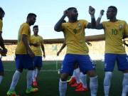 Bóng đá - Tin HOT tối 31/7: Brazil hạ Nhật Bản trước khi dự Olympic