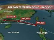 Tin tức trong ngày - Dự báo thời tiết VTV 1/8: Bão Nida vào biển Đông