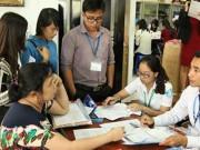 Giáo dục - du học - Thí sinh phấp phỏng đăng ký xét tuyển đợt 1