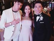 Phim - Lâm Tâm Như lộ rõ bụng bầu trong tiệc cưới