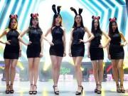 Bạn trẻ - Cuộc sống - Dàn hot girl TQ khoe chân dài tại triển lãm game