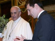 Bóng đá - Đức Giáo hoàng công nhận Messi giỏi hơn Pele và Maradona