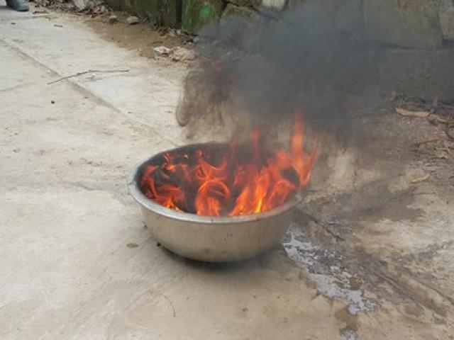 Thông tin mới nhất vụ giếng nước bốc cháy - 2