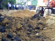 Tin tức trong ngày - Mẫu bùn thải chôn lấp trái phép từ Formosa chứa xyanua