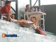 Thể thao - Hoàng Nam, Hoàng Thiên khốn khổ vì mưa tại Men's Futures