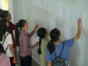 Giáo dục - du học - Những lưu ý đặc biệt với thí sinh đăng ký vào nhóm trường GX