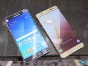 Thời trang Hi-tech - So sánh Samsung Galaxy Note 7 và Galaxy Note 5