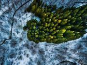 """Du lịch - Bộ ảnh """"gây bão"""" về thiên nhiên Đan Mạch từ trên cao"""