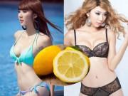 Làm đẹp - Vỏ chanh giúp siêu mẫu Ngọc Quyên giảm 2kg/ tuần