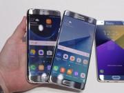 """Dế sắp ra lò - Galaxy Note 7 đối đầu Galaxy S7 edge: """"Cong ăn cong"""""""
