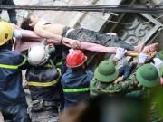 Tin tức trong ngày - Sập nhà 4 tầng giữa Thủ đô: 2 người tử vong