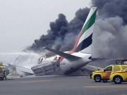 Thế giới - Lý do 300 người thoát nạn khi máy bay cháy dữ dội ở Dubai