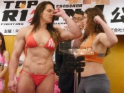"""Thể thao - MMA: Không có đối thủ, đả nữ """"ai cũng sợ"""" tìm võ sỹ nam"""