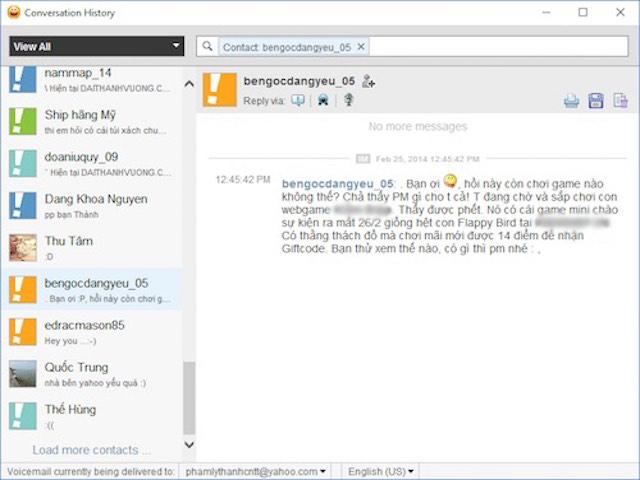 Những hình ảnh không thể nào quên về Yahoo! Messenger