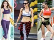 """Thời trang - Bộ 3 giám khảo The Face diện đồ tập gym quá """"hot"""""""