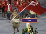 """Thể thao - Olympic: Tan chảy với """"nam thần"""" 6 múi cầm cờ"""