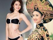 Thời trang - Hoa hậu Bản sắc: Nữ du học sinh gây sốt vì cực ăn ảnh