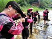 Phi thường - kỳ quặc - Bên trong ngôi làng phụ nữ chỉ cắt tóc một lần trong đời