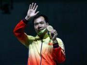 Olympic 2016 - Hoàng Xuân Vinh HCV Olympic: Đẹp trai, giỏi…nịnh vợ