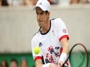 Thể thao - Tennis Olympic: Nadal, Murray dễ dàng qua vòng 1