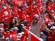 5 triệu người Thổ Nhĩ Kỳ tuần hành ủng hộ chính quyền