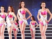 Cận cảnh màn bikini tại chung kết Hoa hậu Bản sắc Việt