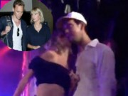 Ca nhạc - MTV - Vắng Tom Hiddleton, Taylor Swift hôn trai lạ
