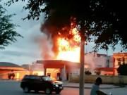Tin tức trong ngày - Quảng Ninh: Cửa hàng xăng cháy rụi là do đốt vàng mã