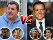 """Bóng đá - Đọ đội hình 2 """"siêu cò"""": Ibra, Pogba đấu Ronaldo, Di Maria"""