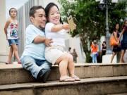 Bạn trẻ - Cuộc sống - Ngưỡng mộ hạnh phúc của cặp đôi chỉ cao 89cm