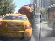 Phi thường - kỳ quặc - Kinh hoàng xe hút bể phốt phát nổ giữa đường