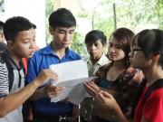 Giáo dục - du học - Xét tuyển đợt 1: Nhiều trường đứng ngồi không yên