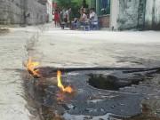 Tin tức trong ngày - Quảng Ninh: Xác định nguyên nhân làm nước giếng bốc cháy