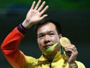 Thể thao - Báo chí thế giới: Hoàng Xuân Vinh làm ĐKVĐ hú vía