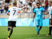 """Đức - Fiji:  """" Ác mộng """"  10 bàn thua"""