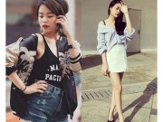 Thời trang - Hoàng Thùy Linh quá gợi cảm với với soóc, váy ngắn