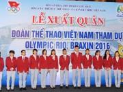 Đoàn thể thao Việt Nam lên tiếng về việc  quan chức tranh suất ở Olympic