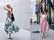 """Thời trang - Những trang phục nàng """"cò hương"""" nên năng diện"""