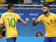 Bóng đá - Tin HOT tối 11/8: Brazil & Đức gặp khó ở Tứ kết Olympic