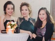 Đan Lê, Minh Hương lộng lẫy mừng Mỹ Linh tuổi 41