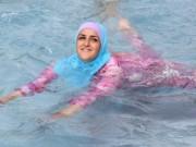 Thế giới - Pháp: Cấm phụ nữ mặc áo bơi Hồi giáo đi biển