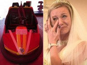 Bạn trẻ - Cuộc sống - Cô dâu khóc thét vì chú rể rước dâu bằng ô tô đồ chơi