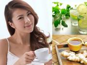 Làm đẹp - Cách giảm cân nhanh vào buổi sáng với gừng và chanh