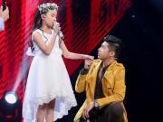 """The Voice Kids: Noo Phước Thịnh  """" thua """"  Vũ Cát Tường"""