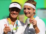 Thể thao - Tennis Olympic ngày 9: Hingis giành HCB