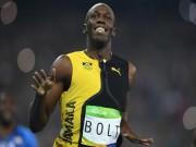 """Thể thao - Chấp đối thủ """"nửa đường"""", Bolt vẫn đoạt HCV Olympic 100m"""