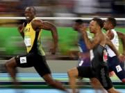 """Thể thao - Vừa chạy vừa cười và vỗ ngực, Bolt vẫn """"vô đối"""""""