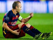 """Bóng đá - Iniesta """"dính sao quả tạ"""" trong ngày đi vào lịch sử"""